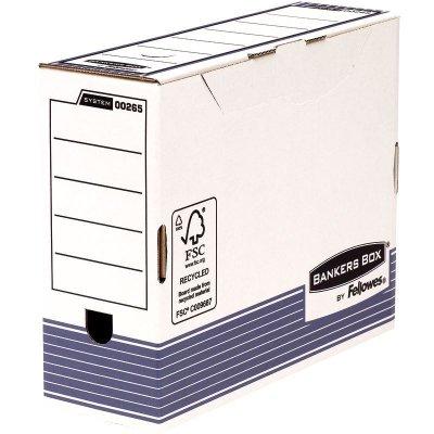 Κουτί μεταφοράς Bankers Box® System 100mm A4 Transfer File - Blue 0026501 10ΤΕΜ ΚΟΥΤΙΑ & ΘΗΚΕΣ ΑΡΧΕΙΟΥ Dimex.gr-Αναλώσιμα Υπολογιστών,Γραφική ύλη,Μηχανές Γραφείου