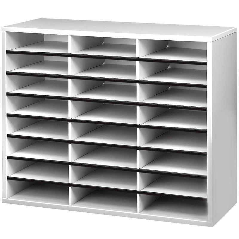 Οργάνωση Γραφείου Fellowes Literature Organiser - 24 compartment Συρταριέρες Dimex.gr-Αναλώσιμα Υπολογιστών,Γραφική ύλη,Μηχανές Γραφείου
