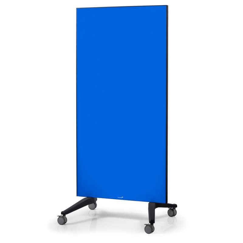 Πίνακας Τροχήλατος Legamaster Glassboard 90x175cm Blue 105300 Πίνακες Μαγνητικοί Γυάλινοι (Glassboard)