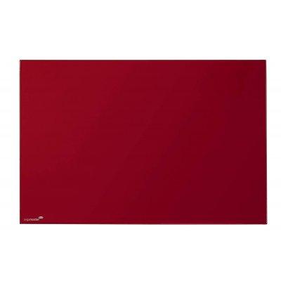 Πίνακες μαρκαδόρου - Πίνακας Legamaster Glassboard 40x60cm Red 104735 Πίνακες Μαγνητικοί Γυάλινοι (Glassboard)