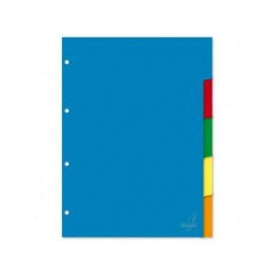 Διαχωριστικά Πλαστικά 10 Θεμάτων Α4 (Χρωματιστά) ΔΙΑΧΩΡΙΣΤΙΚΑ