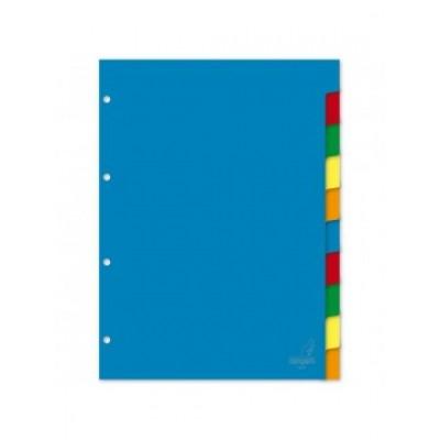 Διαχωριστικά Πλαστικά 5 Θεμάτων Α4 (Χρωματιστά) ΔΙΑΧΩΡΙΣΤΙΚΑ