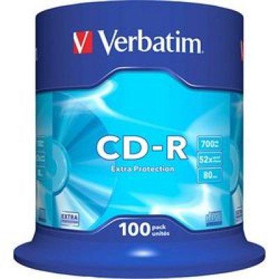 CD-R Verbatim 52X 80/700M Spindle DataLife EP 100ΤΕΜ. CD R / CD RW Dimex.gr-Αναλώσιμα Υπολογιστών,Γραφική ύλη,Μηχανές Γραφείου
