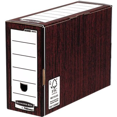 Κουτί μεταφοράς Bankers Box® Premium 127mm Transfer File - Woodgrain 0005302 10ΤΕΜ ΚΟΥΤΙΑ & ΘΗΚΕΣ ΑΡΧΕΙΟΥ Dimex.gr-Αναλώσιμα Υπολογιστών,Γραφική ύλη,Μηχανές Γραφείου