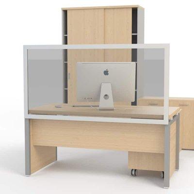 Επιτραπέζιο προστατευτικό διαχωριστικό γραφείου 160Χ80 cm ΠΡΟΣΤΑΤΕΥΤΙΚΑ ΔΙΑΧΩΡΙΣΤΙΚΑ  Dimex.gr-Αναλώσιμα Υπολογιστών,Γραφική ύλη,Μηχανές Γραφείου