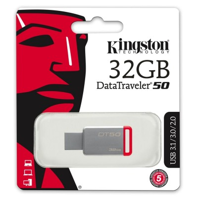 Memory USB Kingston Data Travel 3.0 32GB ΜΝΗΜΕΣ USB