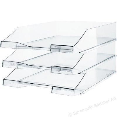 Θήκη γραφείου πλαστική μονή διάφανη (Clear) Δίσκοι Γραφείου