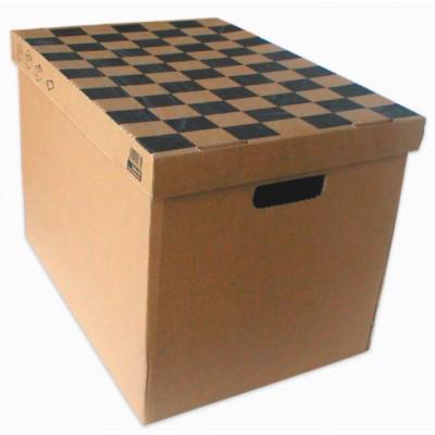 Κουτί χάρτινο 35Χ35Χ50 με καπάκι ΚΟΥΤΙΑ & ΘΗΚΕΣ ΑΡΧΕΙΟΥ