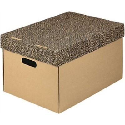 Κουτί χάρτινο ΙΩΝΙΑ 32Χ36Χ29 με καπάκι 5ΤΕΜ ΚΟΥΤΙΑ & ΘΗΚΕΣ ΑΡΧΕΙΟΥ