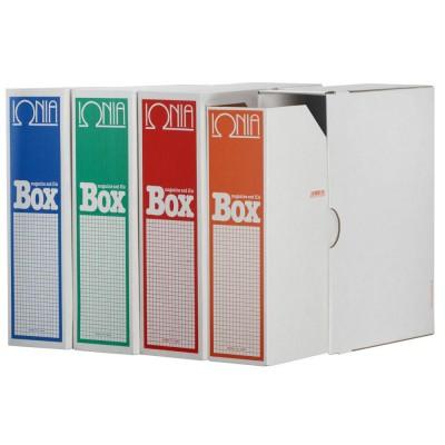 Θήκη Περιοδικών ΙΩΝΙΑ File Box Set Δ με θήκη  ΚΟΥΤΙΑ & ΘΗΚΕΣ ΑΡΧΕΙΟΥ