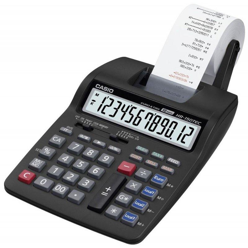 Αριθμομηχανή Casio HR-200RCE 12 Digit display (με χαρτοταινία) ΑΡΙΘΜΟΜΗΧΑΝΕΣ Dimex.gr-Αναλώσιμα Υπολογιστών,Γραφική ύλη,Μηχανές Γραφείου