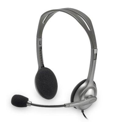 Headset Logitech H110 Wired ΑΚΟΥΣΤΙΚΑ, ΜΙΚΡΟΦΩΝΑ Dimex.gr-Αναλώσιμα Υπολογιστών,Γραφική ύλη,Μηχανές Γραφείου