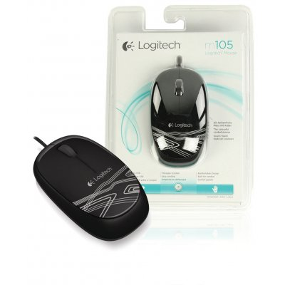 Mouse Logitech M105 Optical Wired ΠΟΝΤΙΚΙΑ