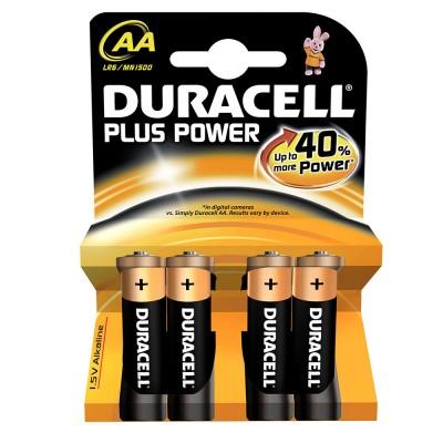 Μπαταρίες Duracell Plus Power AA 1.5V 4pcs ΜΠΑΤΑΡΙΕΣ