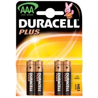 Μπαταρίες Duracell Plus Power AAΑ 1.5V 4pcs ΜΠΑΤΑΡΙΕΣ