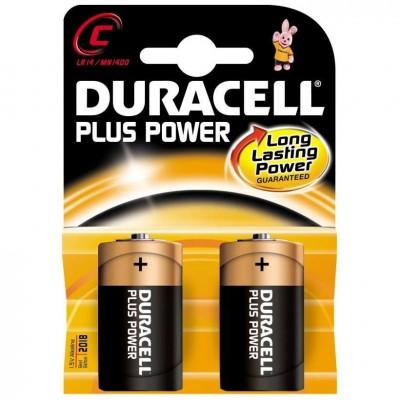 Μπαταρίες Duracell Plus Power C 1.5V 2pcs ΜΠΑΤΑΡΙΕΣ Dimex.gr-Αναλώσιμα Υπολογιστών,Γραφική ύλη,Μηχανές Γραφείου