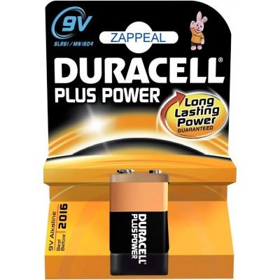 Μπαταρίες Duracell Plus Power 9V 1.5V 1pcs ΜΠΑΤΑΡΙΕΣ
