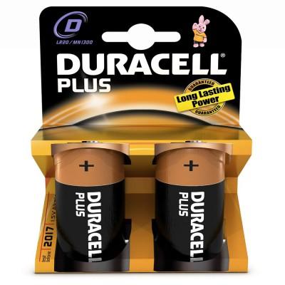 Μπαταρίες Duracell Plus Power D 1.5V 2pcs ΜΠΑΤΑΡΙΕΣ Dimex.gr-Αναλώσιμα Υπολογιστών,Γραφική ύλη,Μηχανές Γραφείου