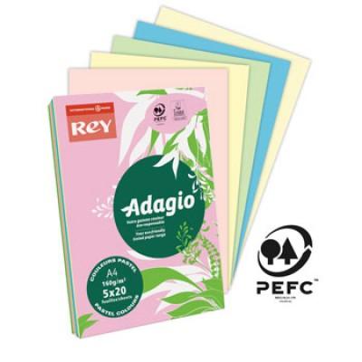 Φωτ/κο χαρτί Α4 160g Rey Adagio Pastel 250 Φύλλα ΦΩΤΟΑΝΤΙΓΡΑΦΙΚΑ ΧΑΡΤΙΑ Dimex.gr-Αναλώσιμα Υπολογιστών,Γραφική ύλη,Μηχανές Γραφείου