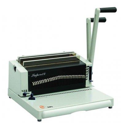 Mηχανες βιβλιοδεσιας - Μηχανή Συρμάτινου Διπλού Σπιράλ Super 23 ΜΗΧΑΝΕΣ ΒΙΒΛΙΟΔΕΣΙΑΣ ΣΠΙΡΑΛ