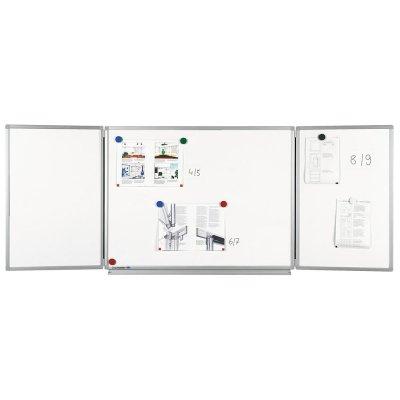 Πίνακες μαρκαδόρου - Πίνακας Legamaster Professional Conference Unit 90x120/240cm 100354 Πίνακες Μαγνητικοί Αναδιπλούμενοι