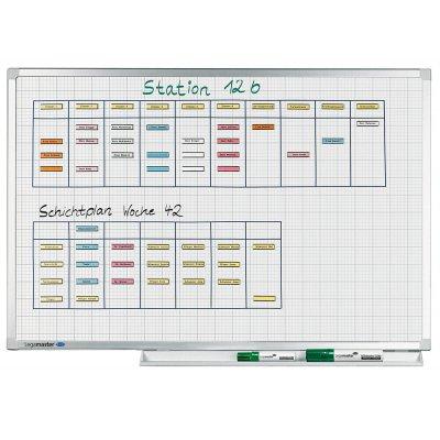 Πίνακες μαρκαδόρου - Legamaster Professional Grid (Καρρέ) 100x200cm 100164 Πίνακες Προσχεδιασμένοι