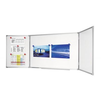 Πίνακες μαρκαδόρου - Πίνακας Legamaster Economy Plus Conference Unit 90x120/240cm 100554 Πίνακες Μαγνητικοί Αναδιπλούμενοι