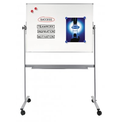 Πίνακες μαρκαδόρου - Πίνακας Legamaster Economy 2πλης Όψης 90x120cm 103654 Πίνακες Μαγνητικοί Διπλής Όψεως