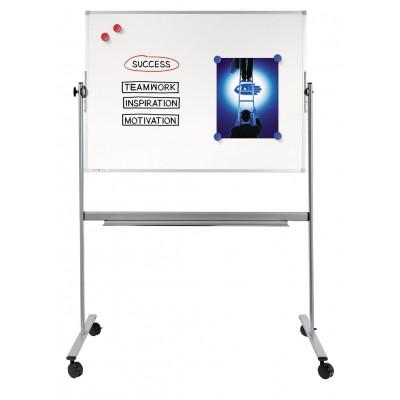 Πίνακες μαρκαδόρου - Πίνακας Legamaster Economy 2πλης Όψης 100x150cm 103663 Πίνακες Μαγνητικοί Διπλής Όψεως
