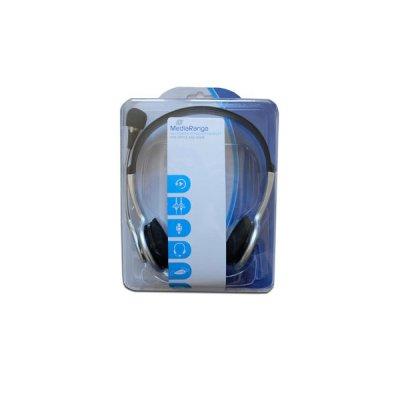 Headset MediaRange PC ΑΚΟΥΣΤΙΚΑ, ΜΙΚΡΟΦΩΝΑ Dimex.gr-Αναλώσιμα Υπολογιστών,Γραφική ύλη,Μηχανές Γραφείου
