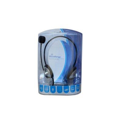 Headset MediaRange PC Neck ΑΚΟΥΣΤΙΚΑ, ΜΙΚΡΟΦΩΝΑ Dimex.gr-Αναλώσιμα Υπολογιστών,Γραφική ύλη,Μηχανές Γραφείου