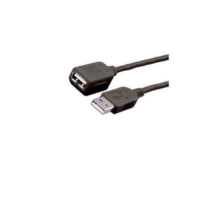 Καλώδιο MediaRange USB 2.0 Extension AM/AF 5.0M Black Καλώδια USB Dimex.gr-Αναλώσιμα Υπολογιστών,Γραφική ύλη,Μηχανές Γραφείου