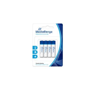 Αλκαλική Μπαταρία MediaRange Premium AAA 1.5V 4pcs ΜΠΑΤΑΡΙΕΣ