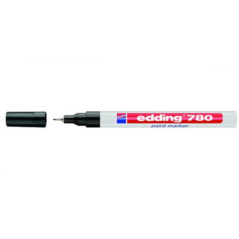 Μαρκαδόρος EDDING Λαδιού 780 0.8mm 10pcs Μαρκαδόροι Επαγγελματικής Επισήμανσης