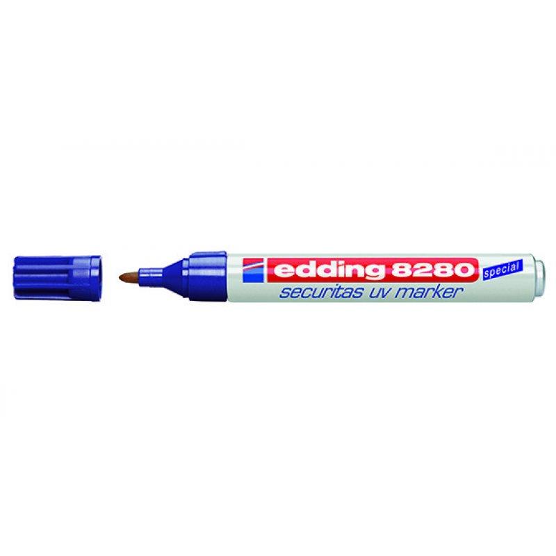 Μαρκαδόρος EDDING UV 8280 1,5-3mm 10pcs Μαρκαδόροι Επαγγελματικής Επισήμανσης