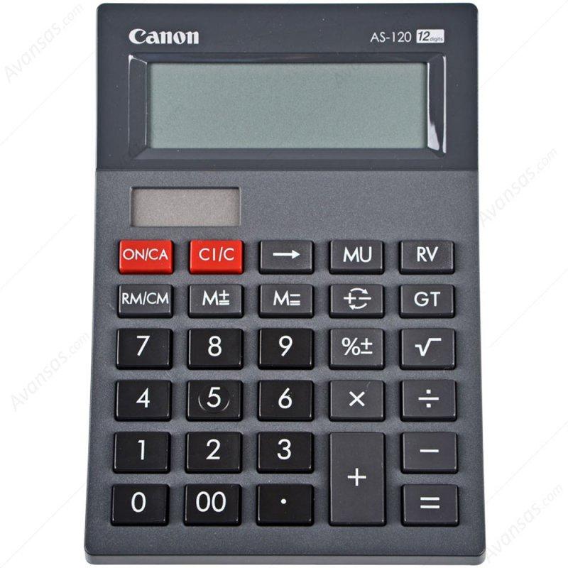 Αριθμομηχανή Canon AS-120 12 Digit display Αριθμομηχανές 12 Ψηφίων