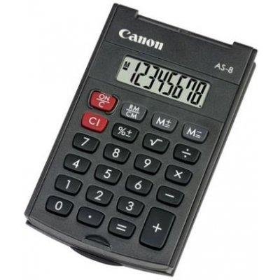 Αριθμομηχανή Canon AS-8 8 Digit display Αριθμομηχανές 8 ψηφίων Dimex.gr-Αναλώσιμα Υπολογιστών,Γραφική ύλη,Μηχανές Γραφείου
