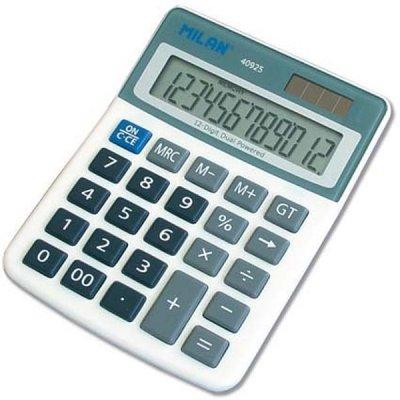 Αριθμομηχανή Milan 40925 12 Digit display Αριθμομηχανές 12 Ψηφίων