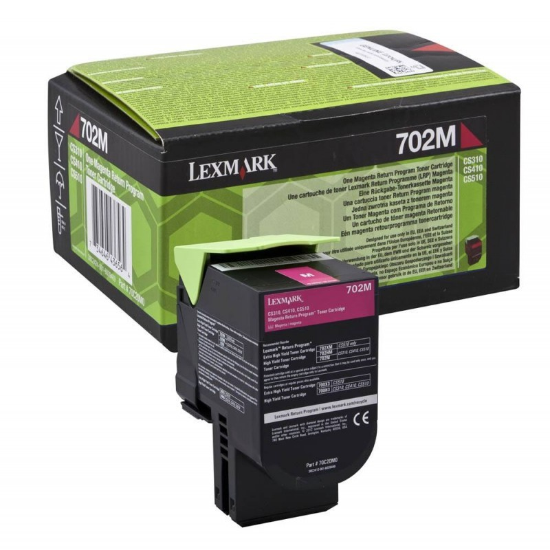 LEXMARK Toner Cartridge 70C20M0 Magenta LEXMARK Dimex.gr-Αναλώσιμα Υπολογιστών,Γραφική ύλη,Μηχανές Γραφείου