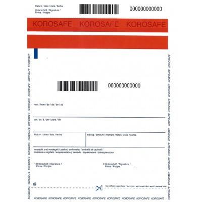 Φάκελος Αποστολών Ασφαλείας KOROSafe 400x470mm Διαφανής 500ΤΕΜ Φάκελοι Ασφαλείας