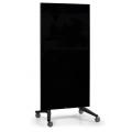 Πίνακας Τροχήλατος Legamaster Glassboard 90x175cm Black 105200 Πίνακες Μαγνητικοί Γυάλινοι (Glassboard)