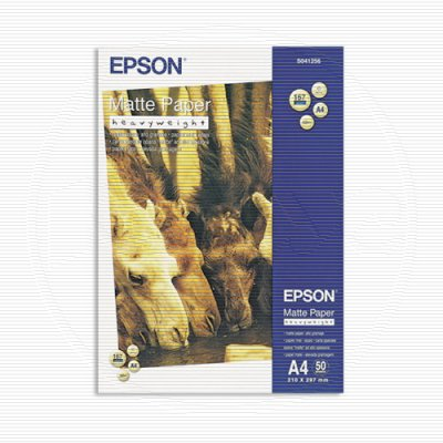 Paper EPSON Heavyweight Matte A4 S041256 50 Sheets EPSON