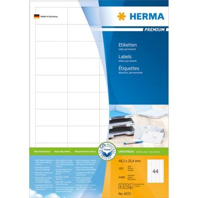 Ετικέττες Premium 48,3Χ25,4 4272 100 Sheets Herma Dimex.gr-Αναλώσιμα Υπολογιστών,Γραφική ύλη,Μηχανές Γραφείου