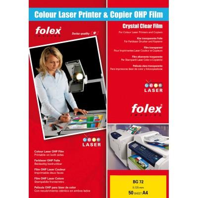 Διαφάνειες Folex Laser/Copier Color A4 BG-72 50 Sheets ΔΙΑΦΑΝΕΙΕΣ ΕΚΤΥΠΩΤΩΝ