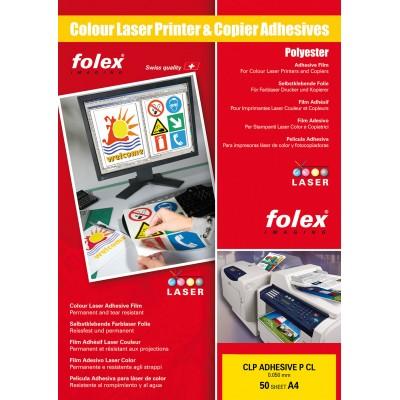 Διαφάνειες αυτοκόλλητες Folex CLP Clear Self Adhesive Laser Color A4 50 Sheets ΔΙΑΦΑΝΕΙΕΣ ΕΚΤΥΠΩΤΩΝ