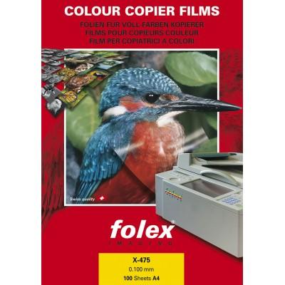 Διαφάνεις Folex Copier Color Α4 Χ-475 100 Sheets ΔΙΑΦΑΝΕΙΕΣ ΕΚΤΥΠΩΤΩΝ
