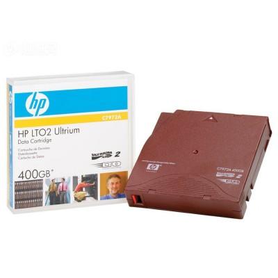 Tape HP LTO2 Ultrium 400GB C7972A DATA CARTRIDGES