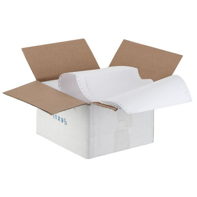 Μηχανογραφικό χαρτί 5,5Χ9,5 2πλο Λευκό Χημικό 2.000Φ ΜΗΧΑΝΟΓΡΑΦΙΚΑ ΧΑΡΤΙΑ