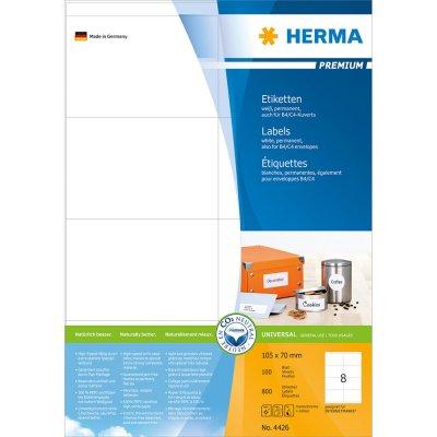Ετικέττες Premium 105Χ70 4426 100 Sheets Herma Dimex.gr-Αναλώσιμα Υπολογιστών,Γραφική ύλη,Μηχανές Γραφείου