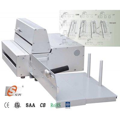 Mηχανες βιβλιοδεσιας - Μηχανή Διάτρησης Ηλεκτρική με Εναλλαγή Μαχαιριών Super 360E ΜΗΧΑΝΕΣ ΒΙΒΛΙΟΔΕΣΙΑΣ ΣΥΡΜΑΤΙΝΟΥ ΣΠΙΡΑΛ